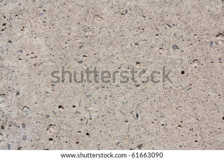 Large cement wall - stock photo