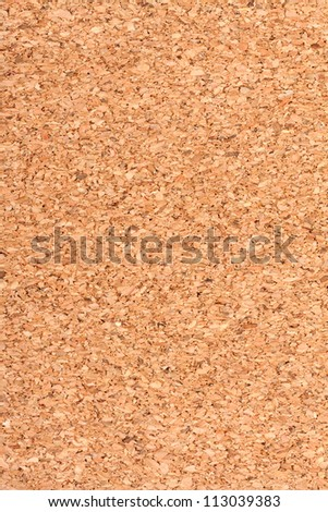 Large cork background for your design - stock photo