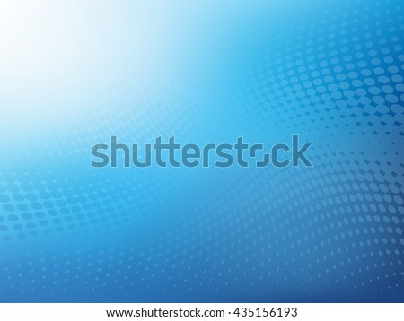 Large Creative Abstract professional looking.jpg blue wave with dots overlay background. Plenty of copy space. - stock photo