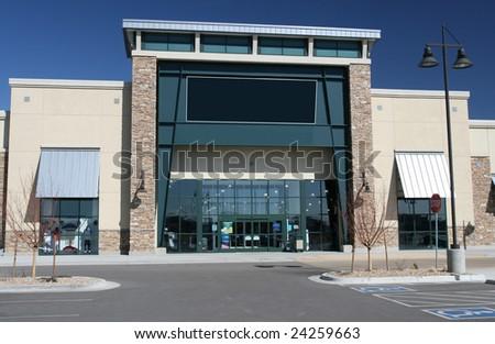 Large Format Retailer - stock photo