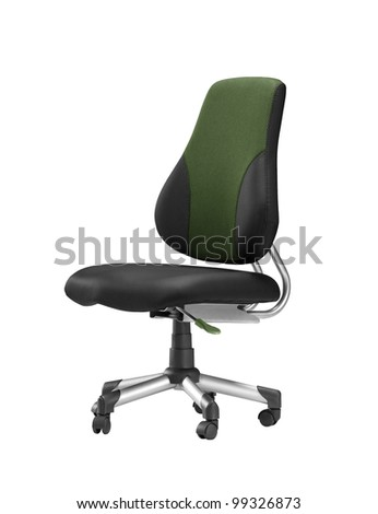 large office chair - stock photo