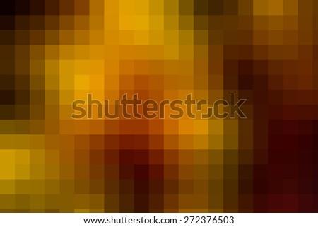 Large pixels colorful bright background. Pixel blur backdrop  - stock photo