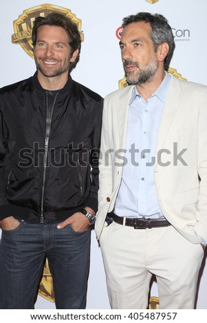 LAS VEGAS - APR 12: Bradley Cooper, Todd Phillips at the Warner Bros. Pictures Presentation during CinemaCon at Caesars Palace on April 12, 2016 in Las Vegas, Nevada - stock photo