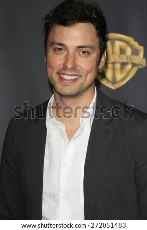LAS VEGAS - APR 21: John Francis Daley at the Warner Bros. Pictures Exclusive Presentation Highlighting the Summer of 2015 and Beyond at Caesars Pallace on April 21, 2015 in Las Vegas, NV - stock photo