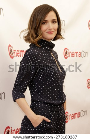 LAS VEGAS - APR 23:  Rose Byrne at the Twentieth Century Fox 2015 Presentation at Cinemacon at the Caesars Palace on April 23, 2015 in Las Vegas, CA - stock photo