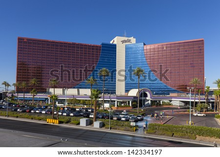 LAS VEGAS - JUNE 14, 2013 - Rio Hotel on June 14, 2013  in Las Vegas, NV. In 2008 Rio opened Sapphire pool. It was closed in 2009 after adult activities were discovered resulting in 11 arrests. - stock photo
