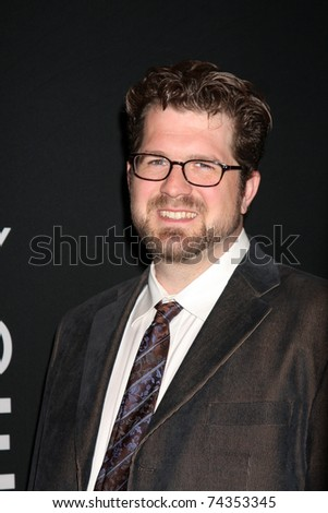 LAS VEGAS - MAR 31: Seth Gordon arrives at the Warner Brother Presentation at the CinemaCon Convention at Caesar's Palace on March 31, 2011 in Las Vegas, NV - stock photo