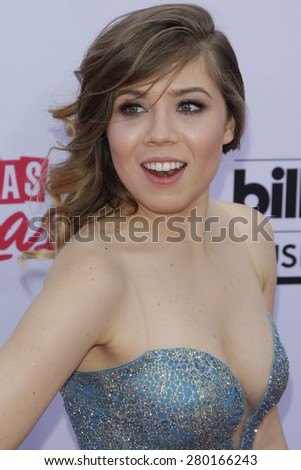 LAS VEGAS - MAY 17: Jennette McCurdy at the 2015 Billboard Music Awards at the MGM Grand Garden Arena on May 17, 2015 in Las Vegas, Nevada. - stock photo