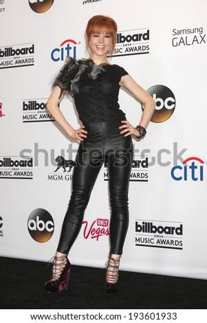 LAS VEGAS - MAY 18:  Lindsey Stirling at the 2014 Billboard Awards at MGM Grand Garden Arena on May 18, 2014 in Las Vegas, NV - stock photo