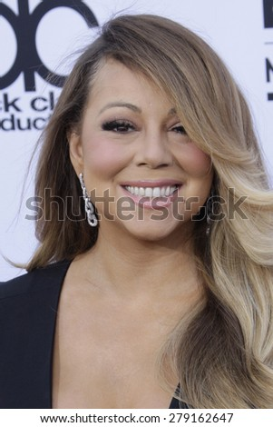 LAS VEGAS - MAY 17:  Mariah Carey at the Billboard Music Awards 2015 at the MGM Garden Arena on May 17, 2015 in Las Vegas, NV - stock photo