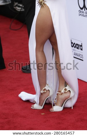 LAS VEGAS - MAY 17: Rita Ora at the 2015 Billboard Music Awards at the MGM Grand Garden Arena on May 17, 2015 in Las Vegas, Nevada. - stock photo
