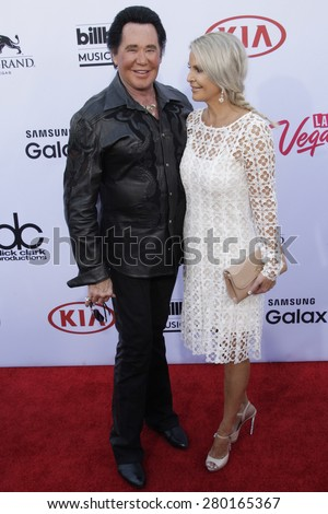 LAS VEGAS - MAY 17: Wayne Newton at the 2015 Billboard Music Awards at the MGM Grand Garden Arena on May 17, 2015 in Las Vegas, Nevada. - stock photo
