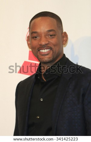 LAS VEGAS - NOV 19:  Will Smith at the 16th Latin GRAMMY Awards at the MGM Grand Garden Arena on November 19, 2015 in Las Vegas, NV - stock photo