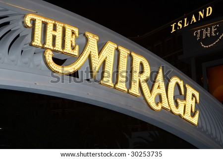 LAS VEGAS, NV - MARCH 31: The Mirage features the White Lions of Timbavati and Siegfried & Roy and Royal White Tigers of Nevada in Las Vegas Nevada on March 31, 2009 - stock photo