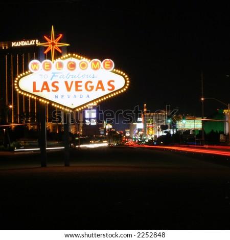 Las Vegas Sign - stock photo
