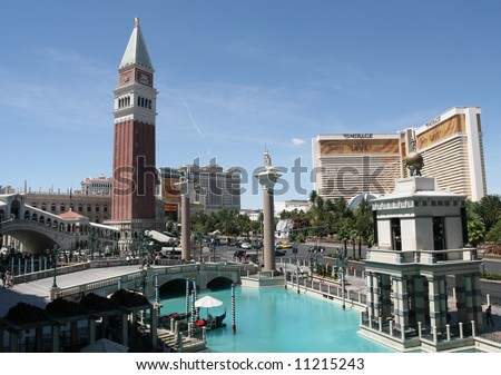 Las Vegas Venetian Resort - stock photo