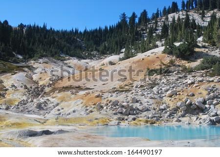 Lassen Volcanic National Park in California - stock photo