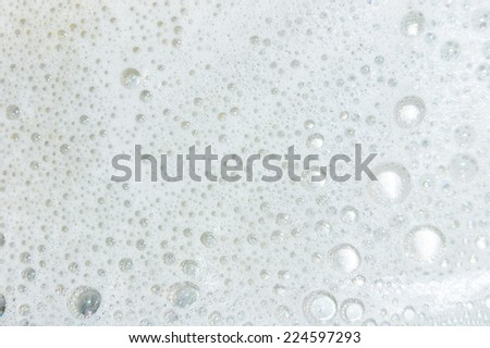 lather - stock photo