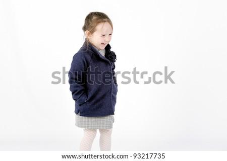 Laughing girl - stock photo