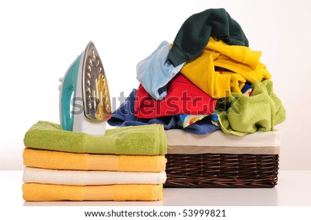 Laundry. - stock photo