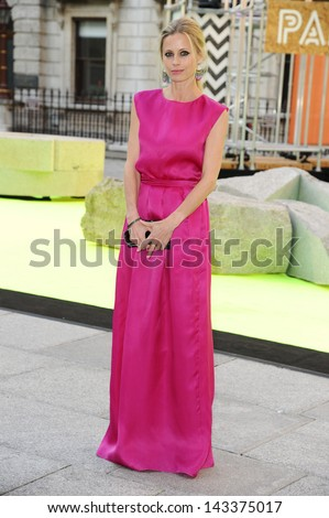 Laura Bailey arriving for the Royal Academy of Arts Summer Party 2013, London. 05/06/2013 - stock photo