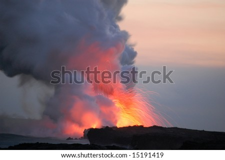 Lava - stock photo