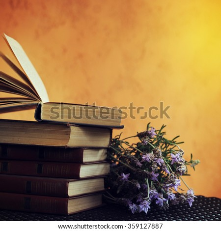 Lavender bunches - stock photo