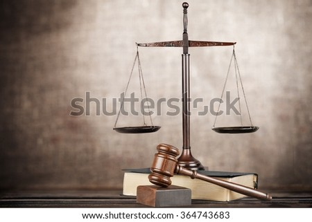 Law. - stock photo