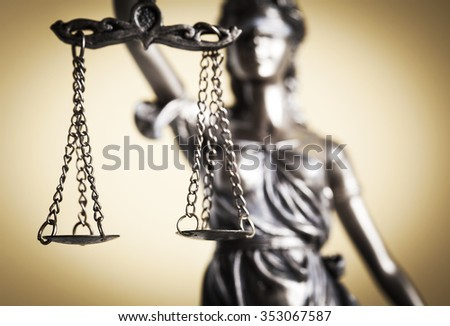 Law and justice concept - stock photo