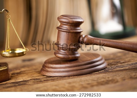 Law and justice concept, legal code - stock photo