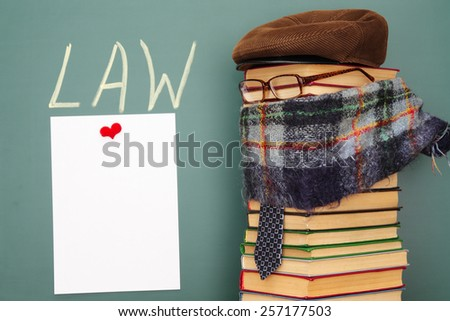 Law funny concept - stock photo