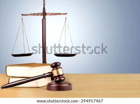 Law, rights, closeup. - stock photo