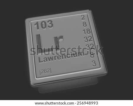 an introduction to the chemical element lawrencium A chemical element is a species of atoms having the same number of protons in their atomic nuclei (that is, the same atomic number, or z) lawrencium 103 lr.