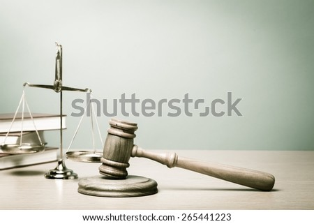 Lawyer, court, law. - stock photo