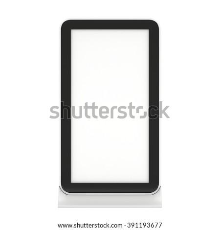 LCD Kiosk Stand. LCD Kiosk 3d. LCD Kiosk JPEG. LCD Kiosk Object. LCD Kiosk Picture. LCD Kiosk Image. LCD Kiosk Expo. LCD Kiosk Art. LCD Kiosk JPG. LCD Kiosk Render - stock photo