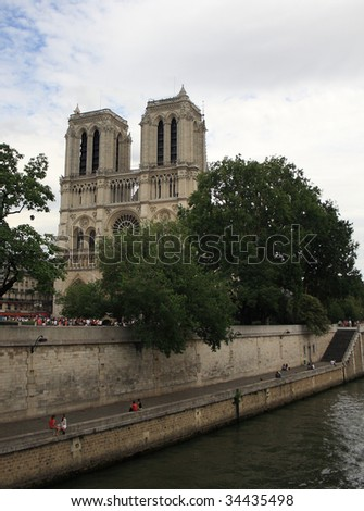 Le Notre Dame - stock photo