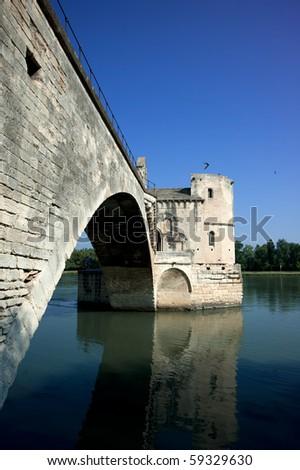 Le Pont D' Avignon,France - stock photo