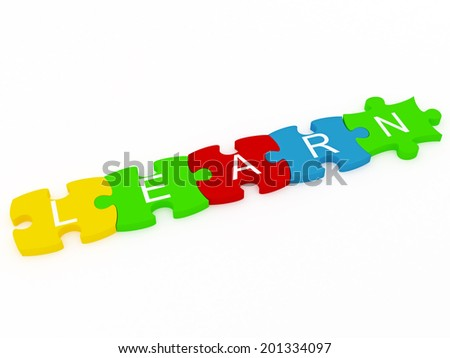 Learn Concepts - stock photo