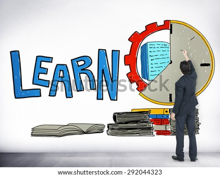 Learn Education Study Activity Knowledge Concept - stock photo