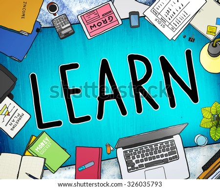 Learn Learning Knowledge Education College Concept - stock photo