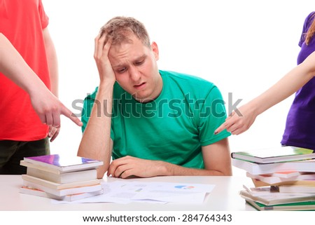 Learning Problems - stock photo