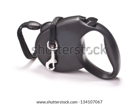 leash for dogs on a light background - stock photo