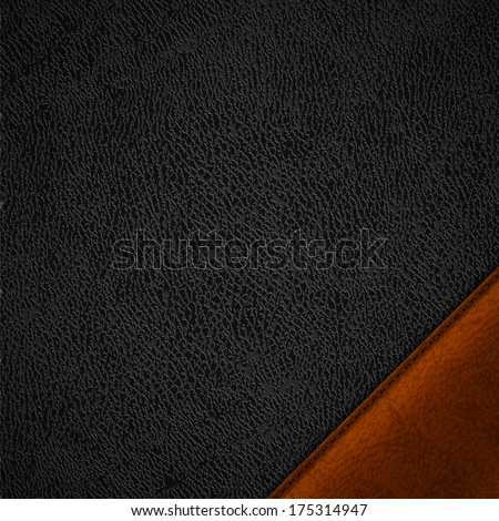 Leather background - raster version - stock photo