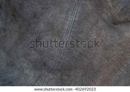 leather brown with dingy light. - stock photo