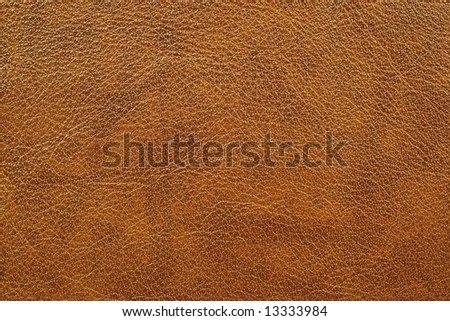 Leather of brown color - stock photo