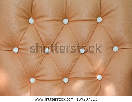 leather sofa texture background - stock photo