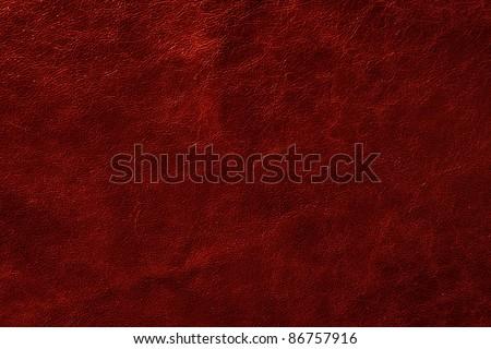 leather texture closeup - stock photo