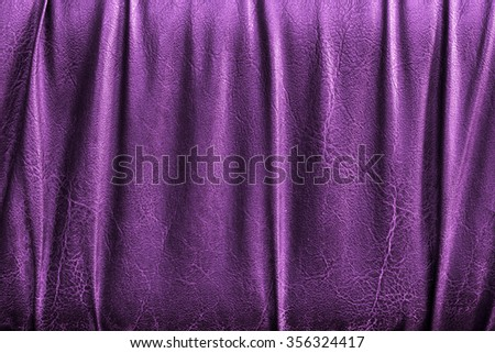 leather texture closeup. color leather background for work design and graphic. - stock photo