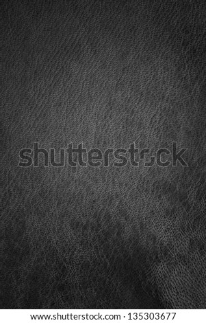 leather texture dark - stock photo