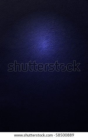 leather texture dark blue - stock photo